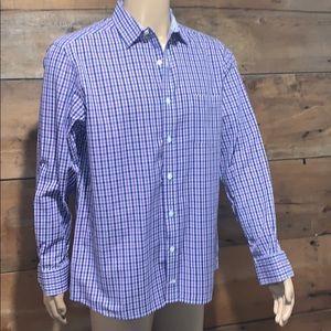 Johnston & Murphy Mens Polo Dress Shirt SZ.L